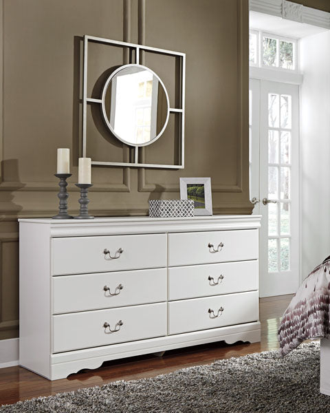 Anarasia Dresser- White