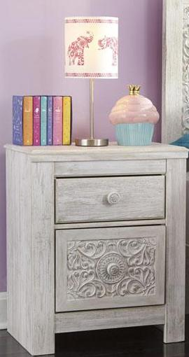 Paxberry Two Drawer Nightstand