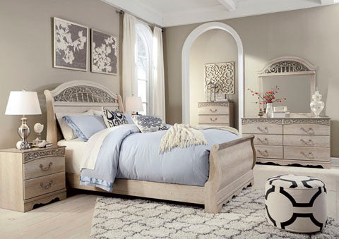 Catalina Bedroom Set - Sleigh Bed