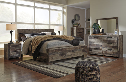 Derekson Bedroom Set - Panel Bed