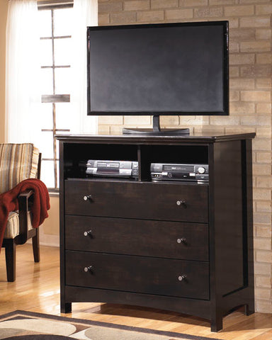 Harmony - Media Chest - Dark Brown