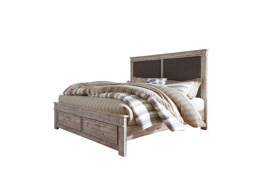 Willabry - Storage Bed - Weathered Beige