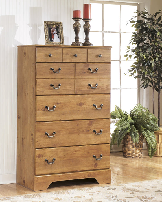 Bittersweet - Five Drawer Chest - Light Brown