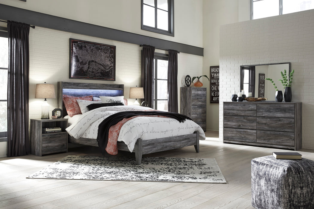 Baystorm Bedroom Set - Panel Bed