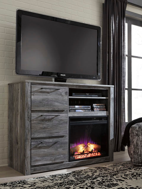 Baystorm - Media Chest - Optional Fireplace