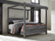 Baystorm Bedroom Set - Canopy Bed