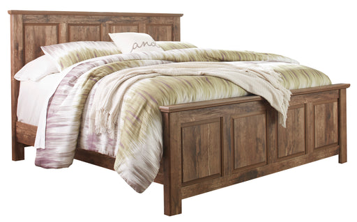 Blaneville - Panel Headboard - Brown