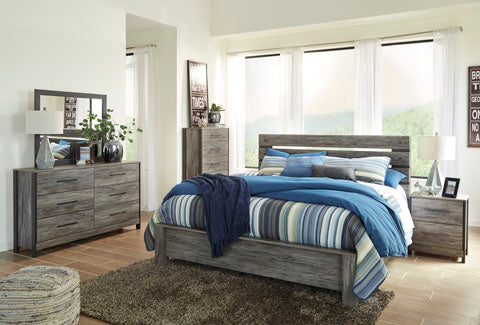 Cazenfeld Bedroom Set - Panel Bed