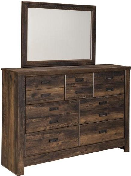 Quinden - Dresser - Dark Brown