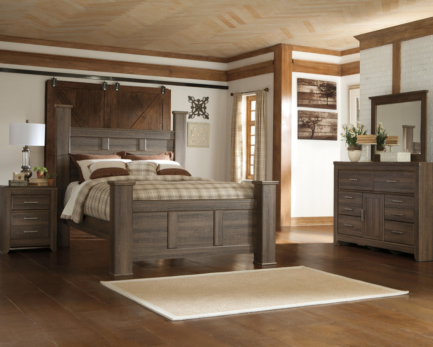 Juararo Two Drawer Nightstand