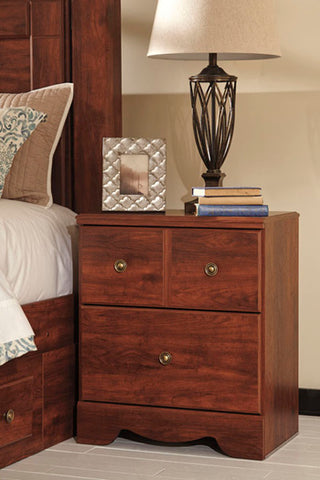 Brittberg 2 Drawer Nightstand