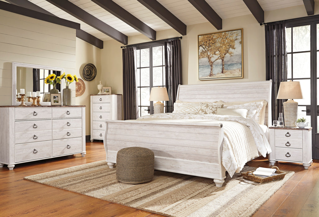 Willowton - Dresser - Two-tone