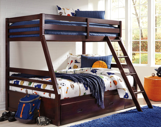 Halanton - Bunk Bed - Dark Brown