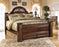 Gabriela - Storage Bed - Dark Reddish Brown