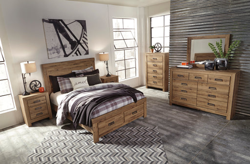 Cinrey Bedroom Set - Storage Bed