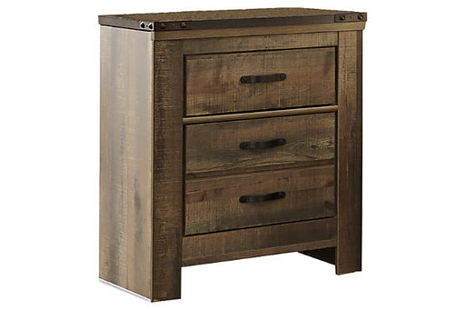 Trinell Two Drawer Nightstand