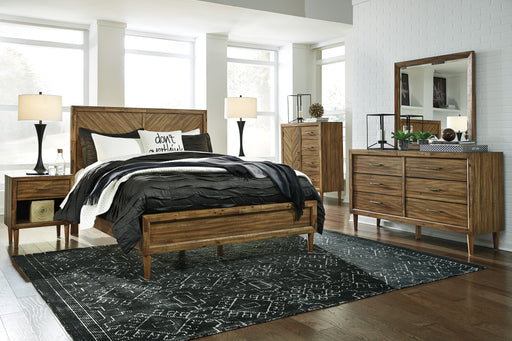 Broshtan Bedroom Set - Panel Bed