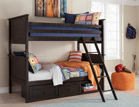 Jaysom - Bunk Bed - Black