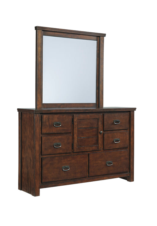 Ladiville Dresser - Rustic Brown