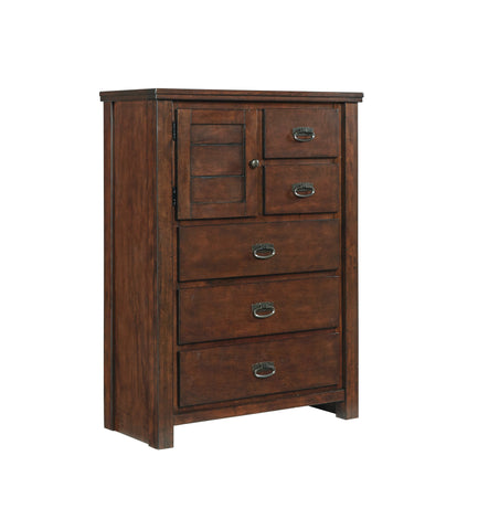 Ladiville Chest - Rustic Brown