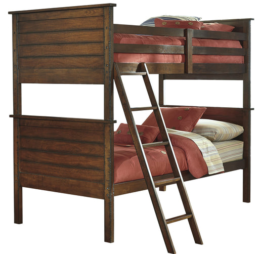 Ladiville - Bunk Bed - Rustic Brown