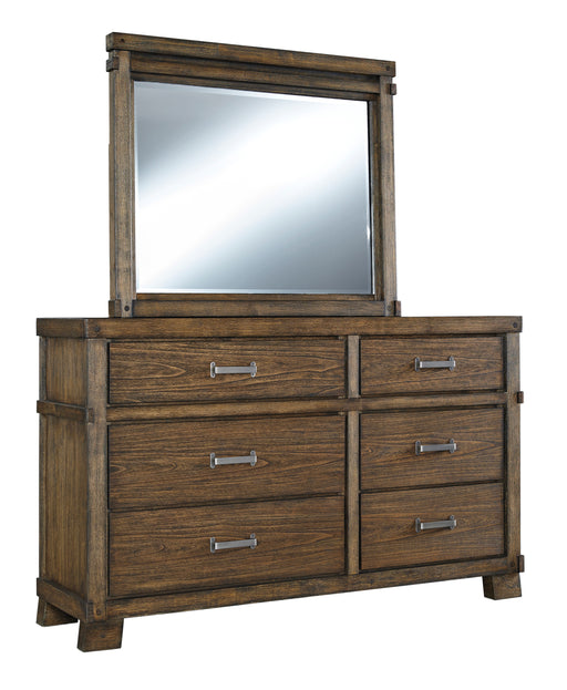 Leystone - Dresser - Dark Brown