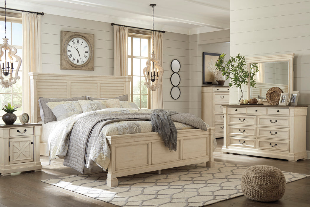 Bolanburg Bedroom Set - Louvered Bed