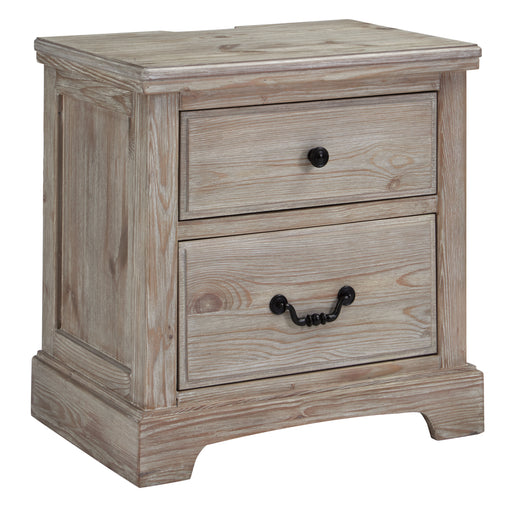 Charmyn Two Drawer Nightstand