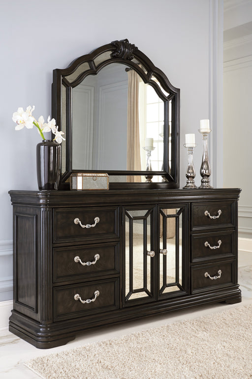 Quinshire - Dresser - Dark Brown