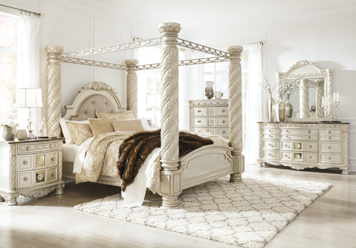Cassimore Bedroom Set - Canopy Bed