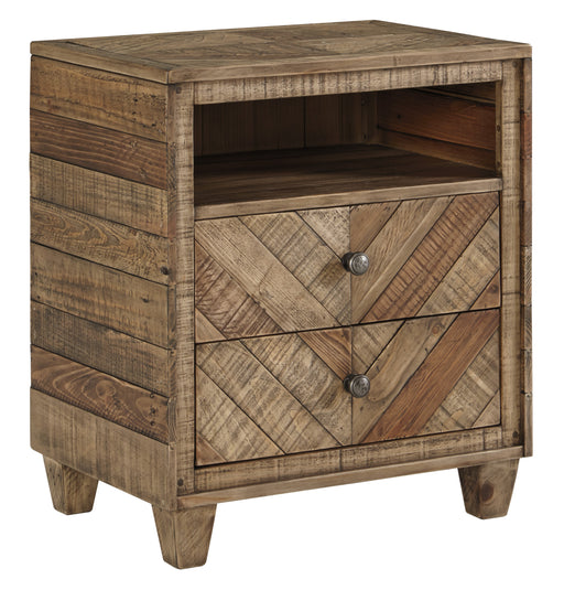 Grindleburg Two Drawer Night Stand