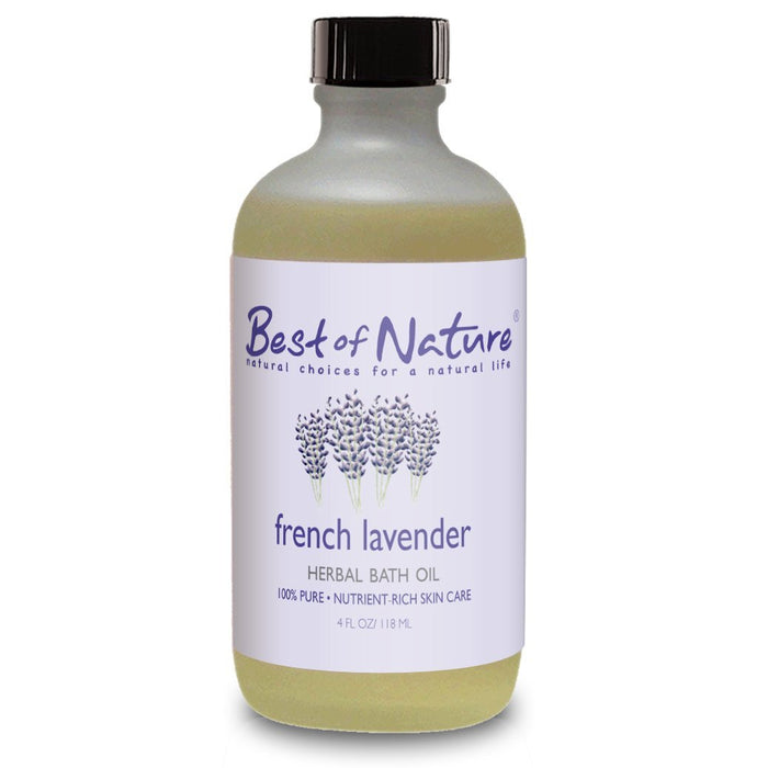 French Lavender Herbal Bath Oil