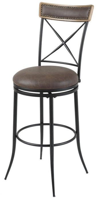 "Boise 26"" & 30"" Metal Stool with Swivel-seat"