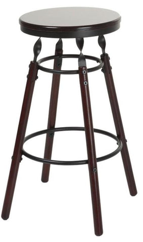 "Boston 26"" & 30"" Wood Stool"