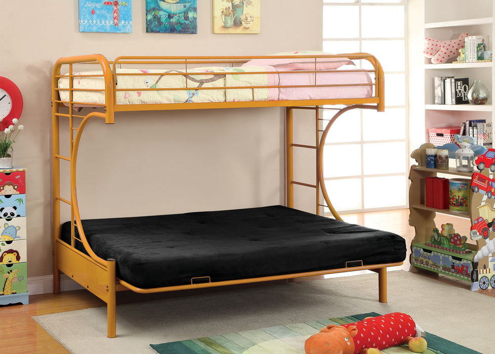 Rainbow Twin/Futon Bunk Bed - 6 Colors