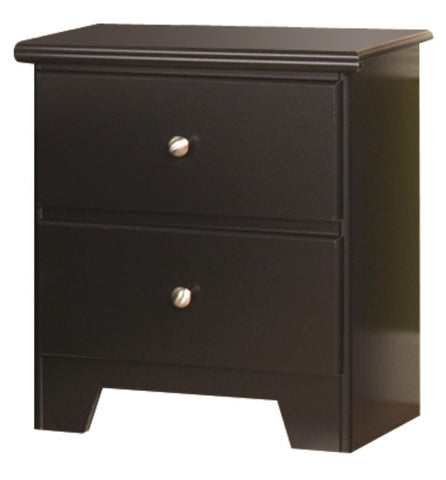Columbia 2 Drawer Nightstand