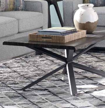 Emmett - Sofa Table - Dark Rustic Brown
