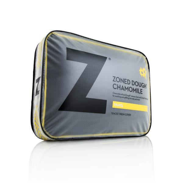 Z Pillow Travel Zoned Dough® Chamomile by Malouf