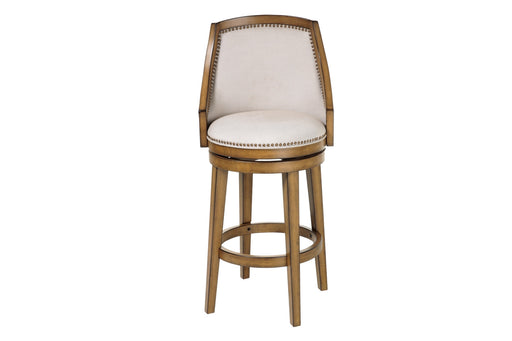 "Charleston 30"" Wood Bar Stool with Swivel-seat"