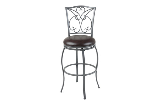 "Columbia 30"" Metal Stool with Swivel-seat"