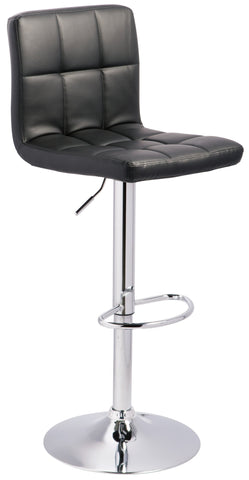 Bellatier Swivel Bar Stool - 2 Colors - Adjustable Height