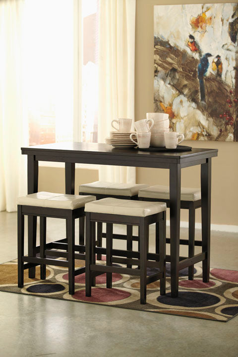 Kimonte Dining Set - Counter Height