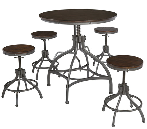Odium Dining Set - Counter Height
