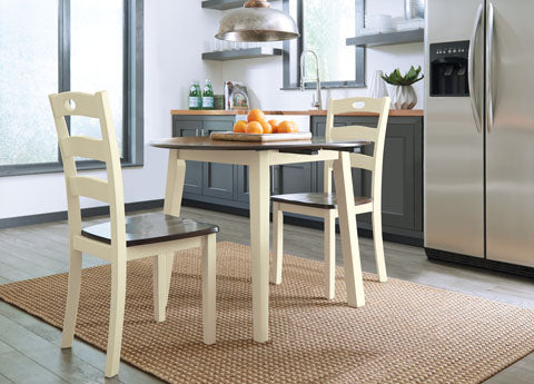 Woodanville Drop Leaf Dining Set - Dining Height
