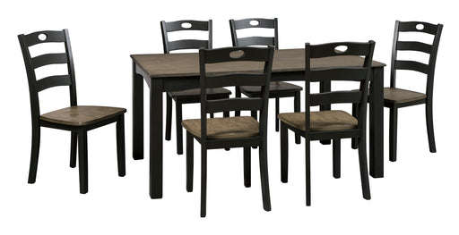 Froshburg Dining Room Table Set