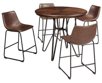 Centiar Dining Set - Counter Height - Round