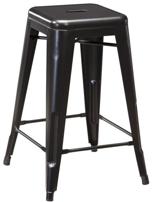 Pinnadel Metal Bar Stool Set of 4 - Counter Height