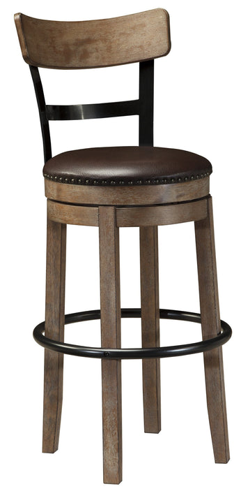 Pinnadel Swivel Bar Stool - 2 Heights
