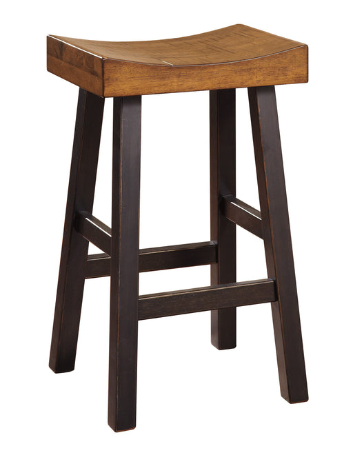 Glosco Bar Stool Set of 2 - 2 Heights