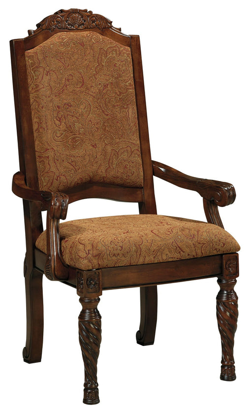FLOOR MODEL -  North Shore Dining Room Arm Chair - Upholstered Back